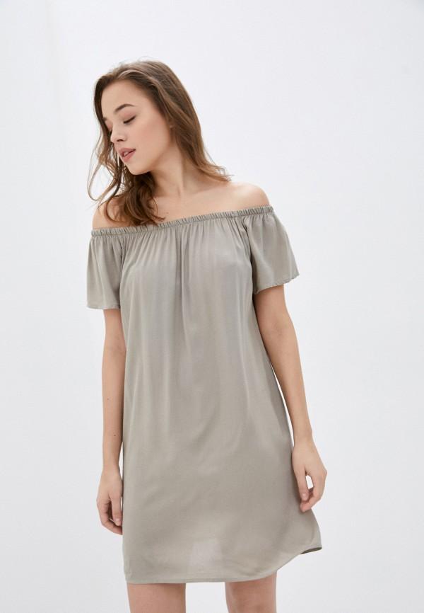 женское платье fresh made, серое