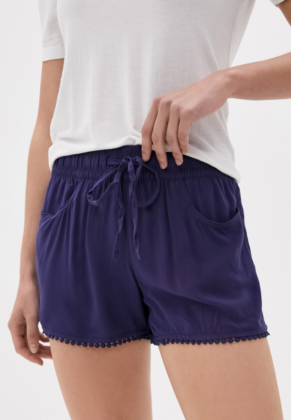 женские повседневные шорты fresh made, фиолетовые