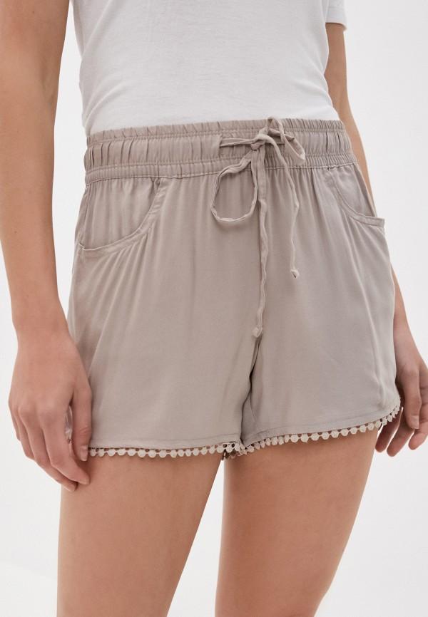 женские повседневные шорты fresh made, бежевые