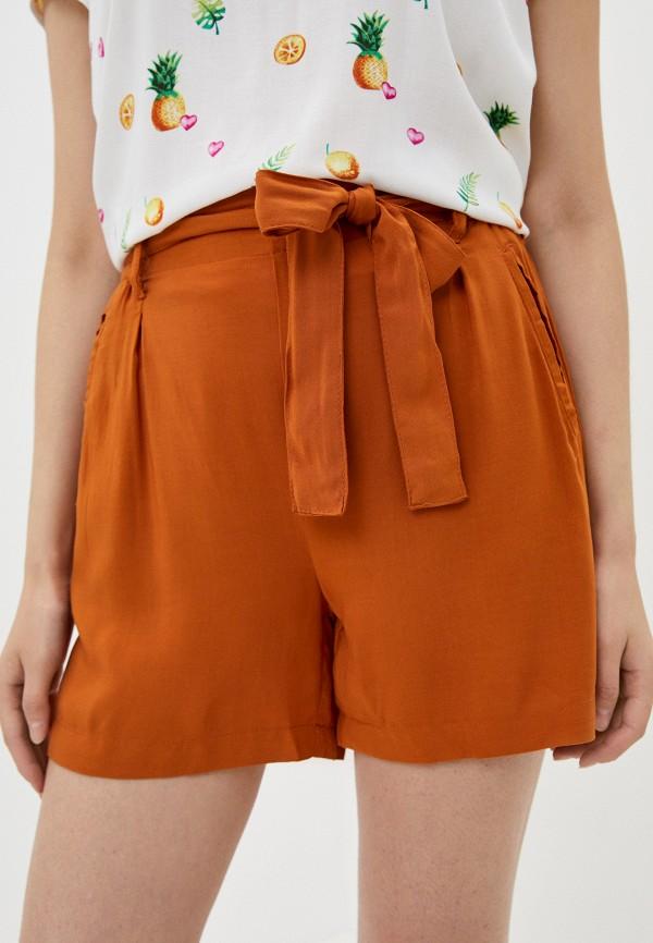 женские повседневные шорты fresh made, оранжевые