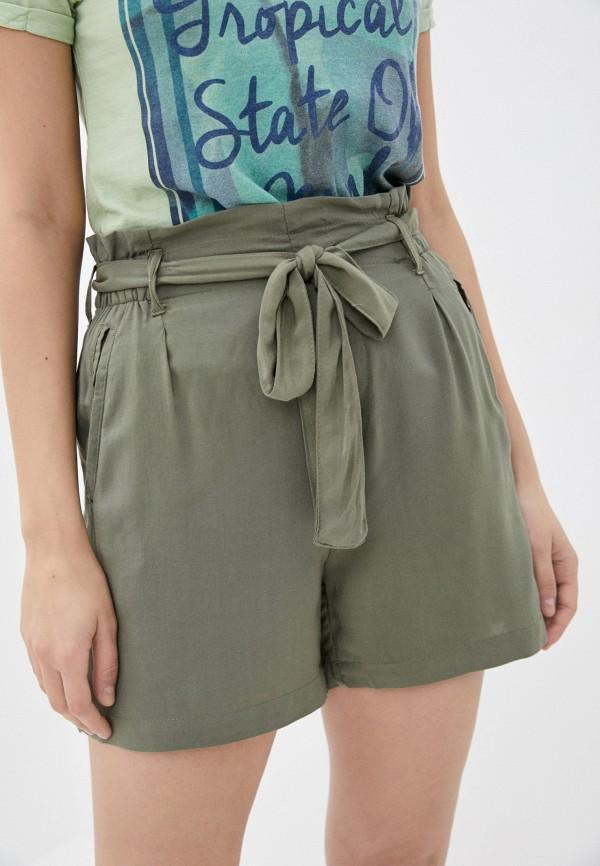 женские повседневные шорты fresh made, хаки
