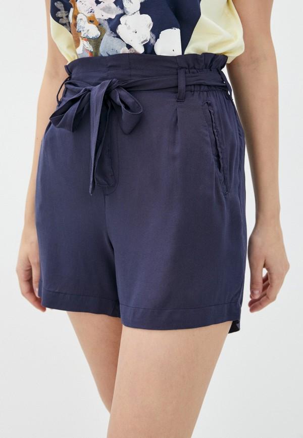 женские повседневные шорты fresh made, синие
