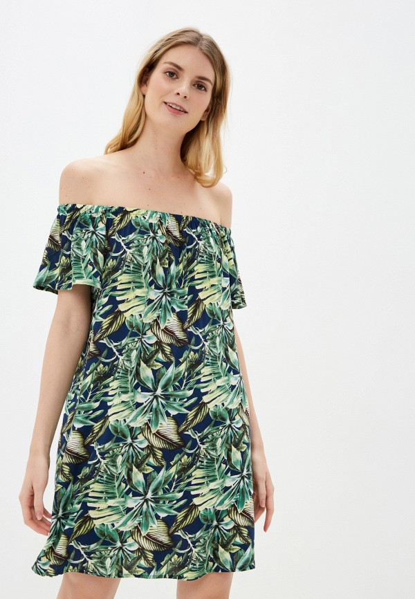 женское платье fresh made, синее