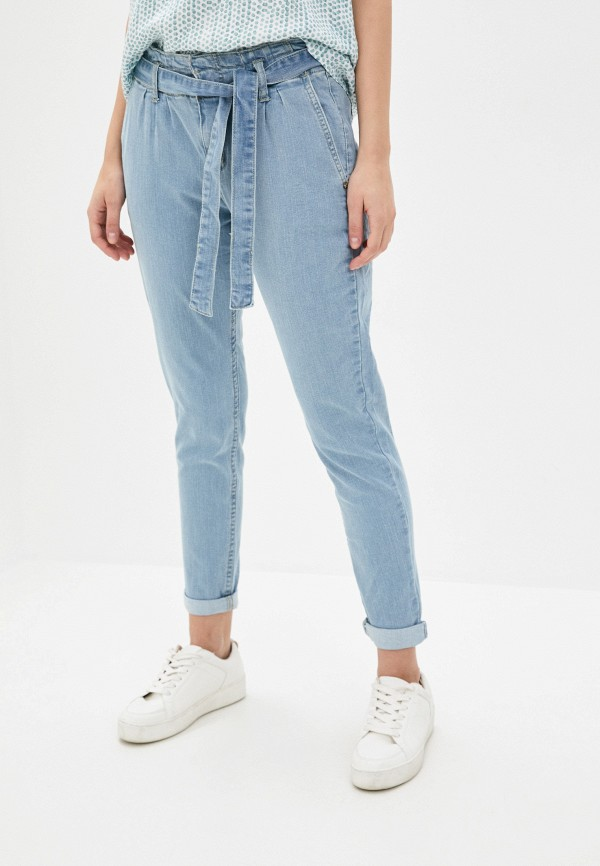 женские джинсы fresh made, голубые