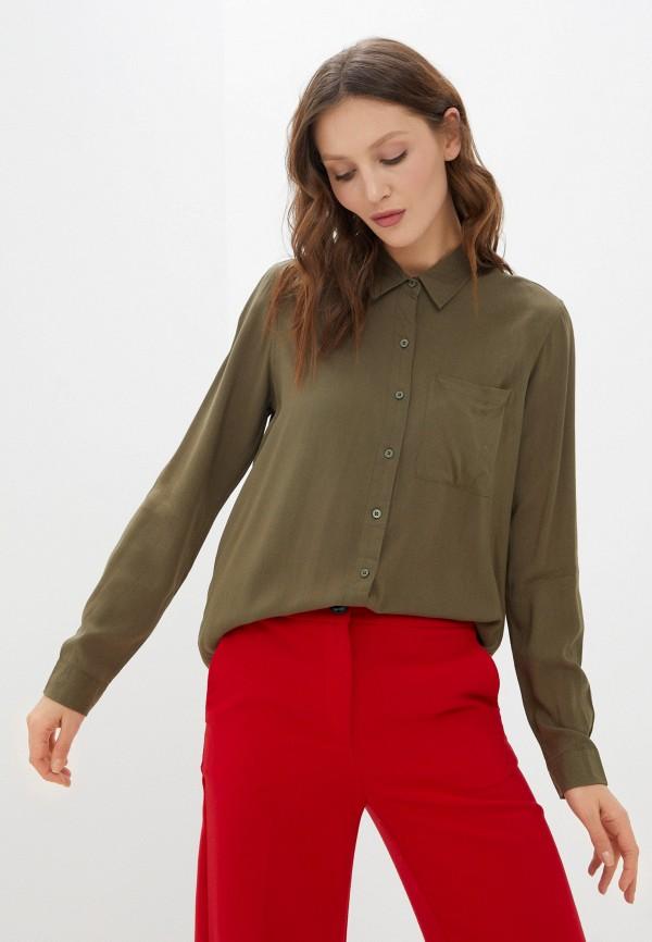 женская блузка fresh made, хаки