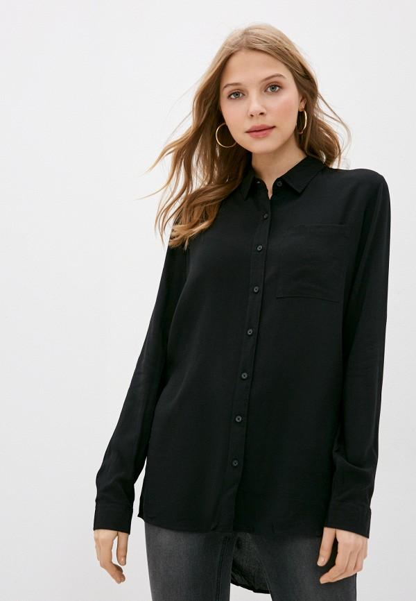 женская блузка fresh made, черная