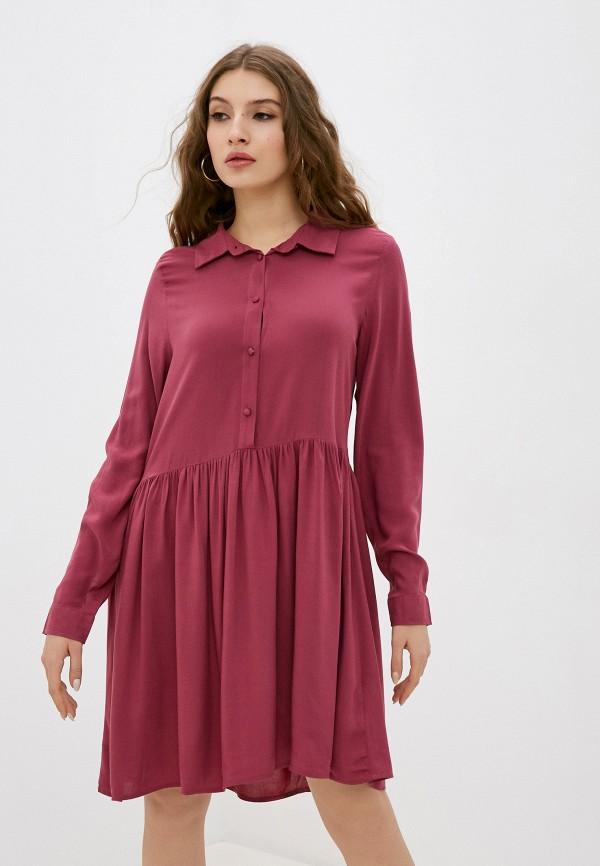 женское повседневные платье fresh made, розовое