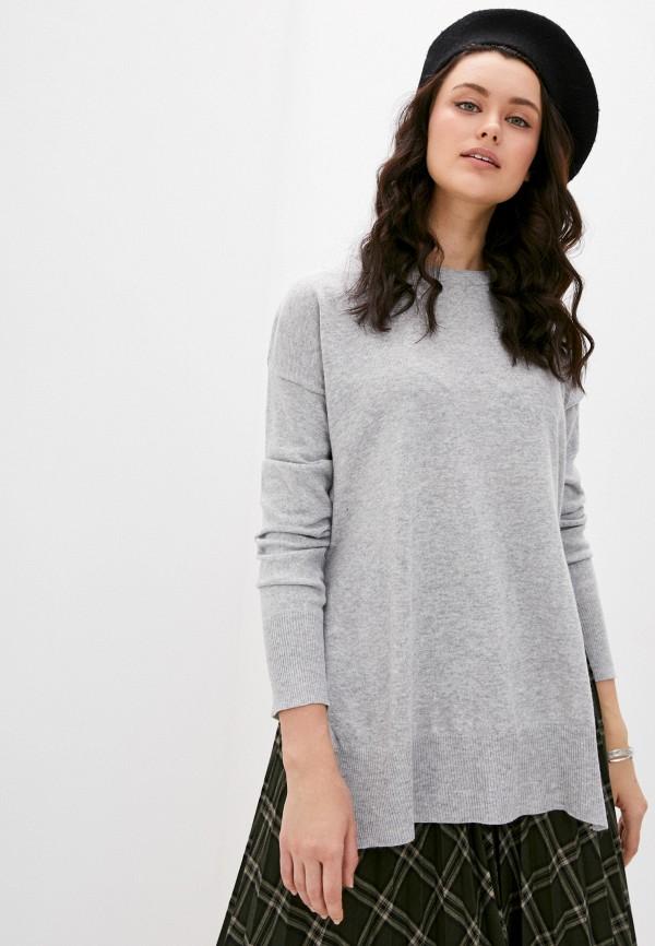 женский джемпер fresh made, серый