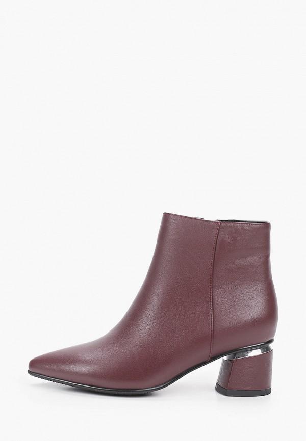 женские высокие ботинки francesca peretti, бордовые