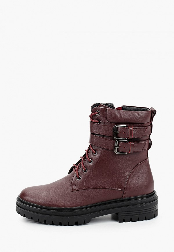 женские ботинки francesca peretti, бордовые