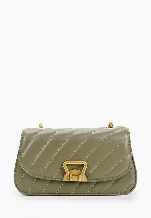 женская сумка francesca peretti, зеленая
