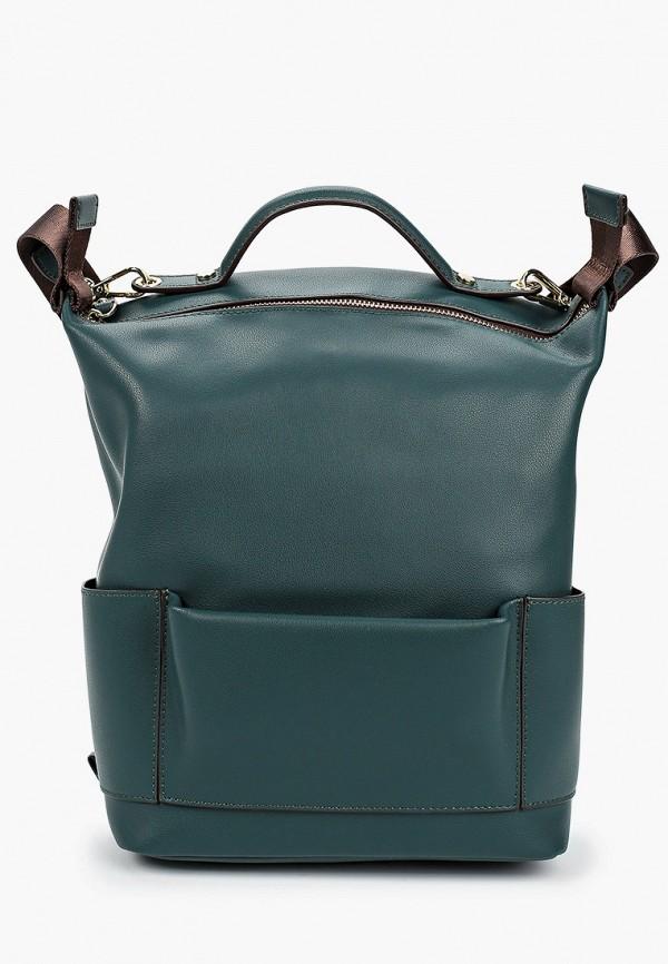 женский рюкзак francesca peretti, зеленый