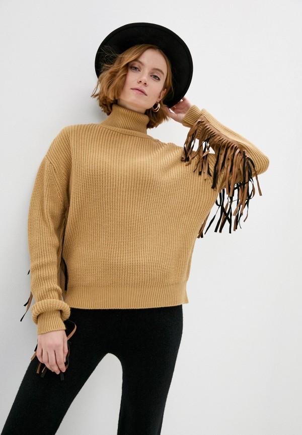 женский свитер francesca peretti, бежевый