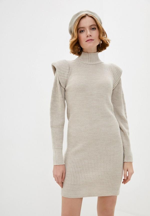 женское платье francesca peretti, бежевое