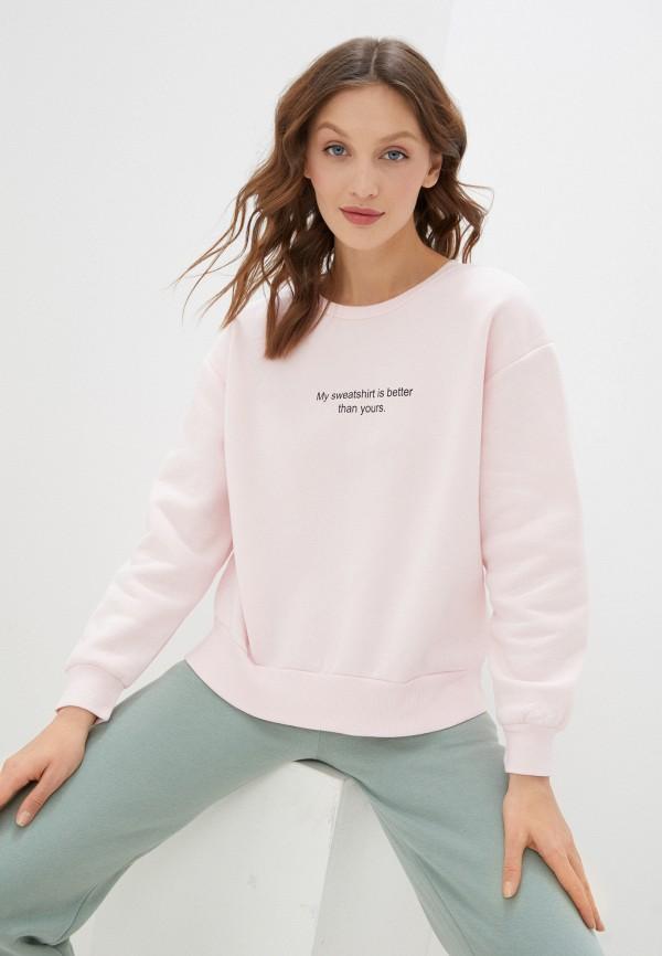 женский свитшот francesca peretti, розовый
