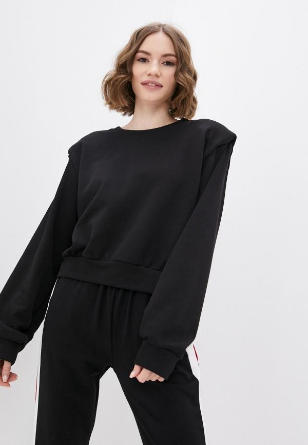женский свитшот francesca peretti, черный