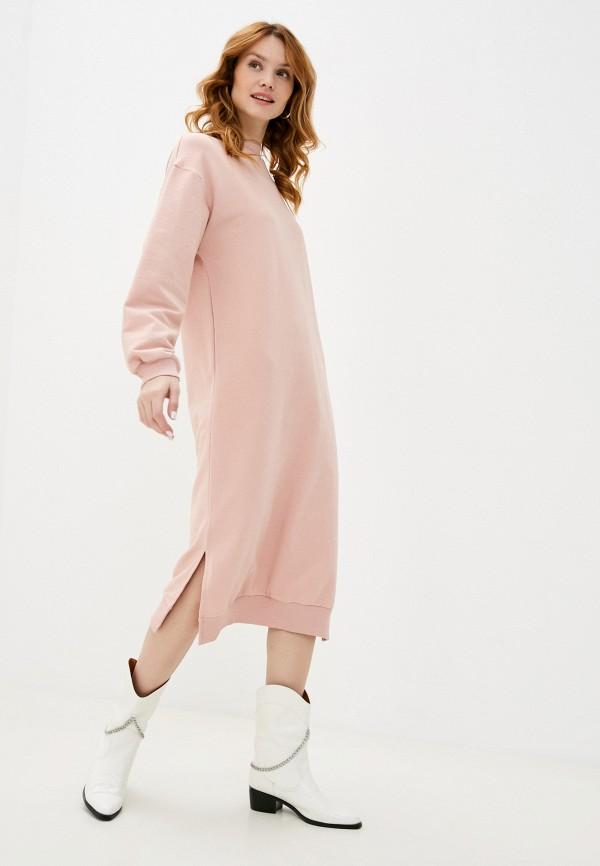 женское платье francesca peretti, розовое