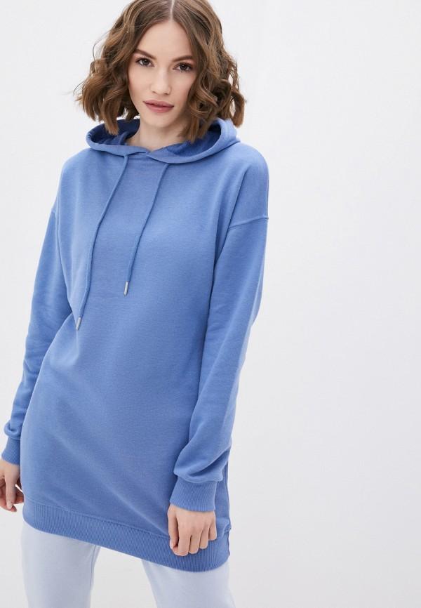 женские худи francesca peretti, голубые