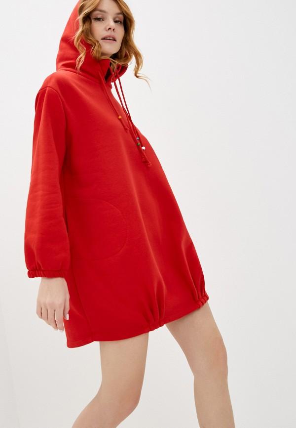 женское платье francesca peretti, красное