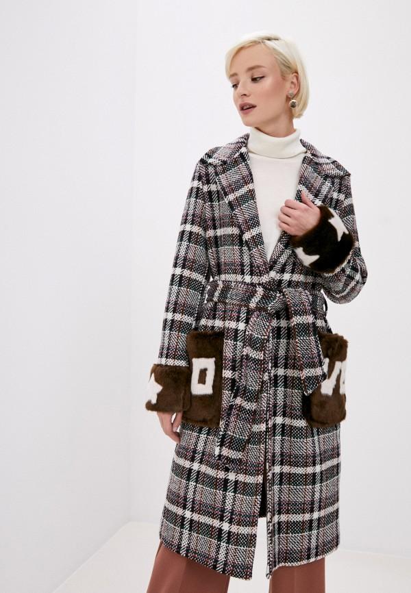 женское пальто front street 8, разноцветное