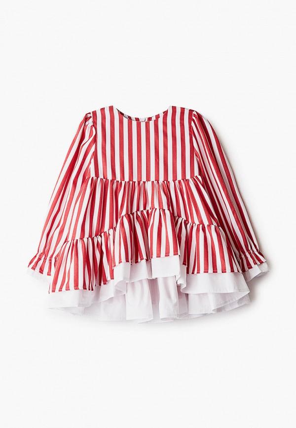блузка fridaymonday для девочки, красная