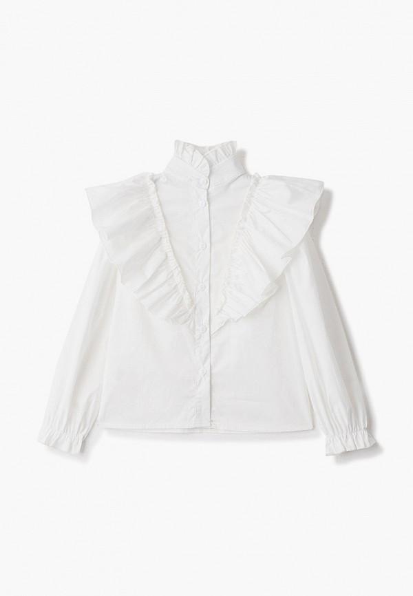 блузка fridaymonday для девочки, белая