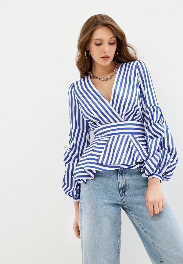 женская блузка fridaymonday, синяя
