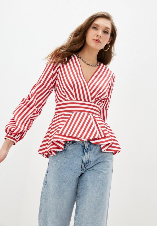 женская блузка fridaymonday, красная