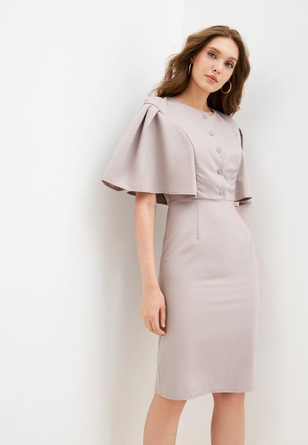 женское повседневные платье fridaymonday, серое