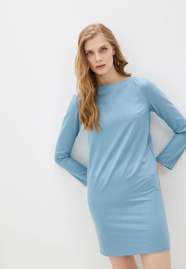 женское повседневные платье fridaymonday, бирюзовое