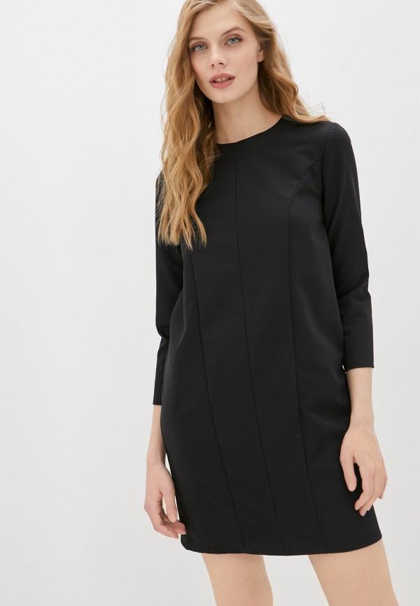 женское повседневные платье fridaymonday, черное