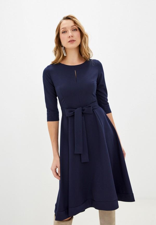 женское повседневные платье fridaymonday, синее