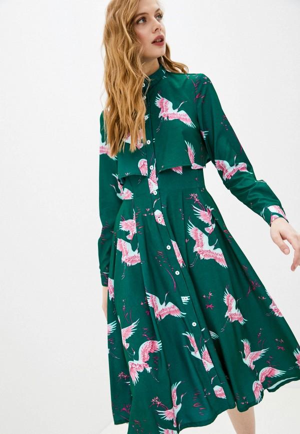женское повседневные платье fridaymonday, зеленое
