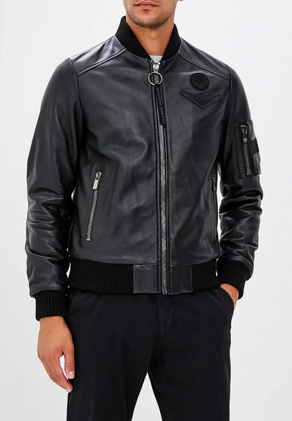 Куртка кожаная Frankie Morello Frankie Morello FR458EMBYMF5