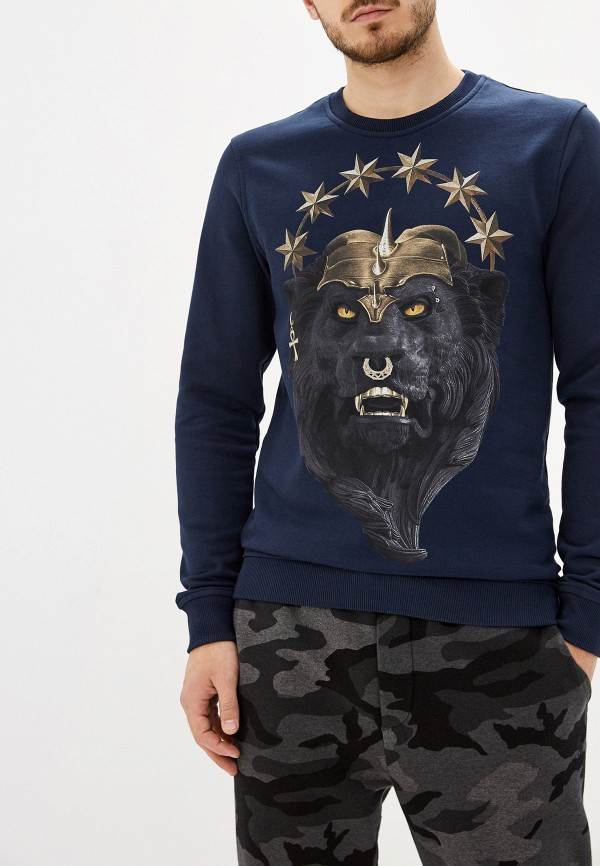 мужской свитер frankie morello, синий