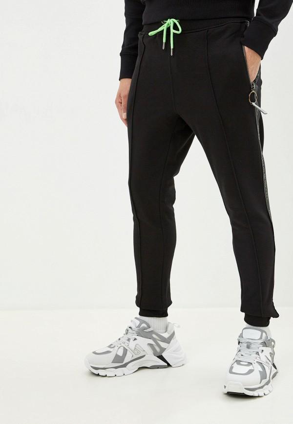 мужские спортивные спортивные брюки frankie morello, черные