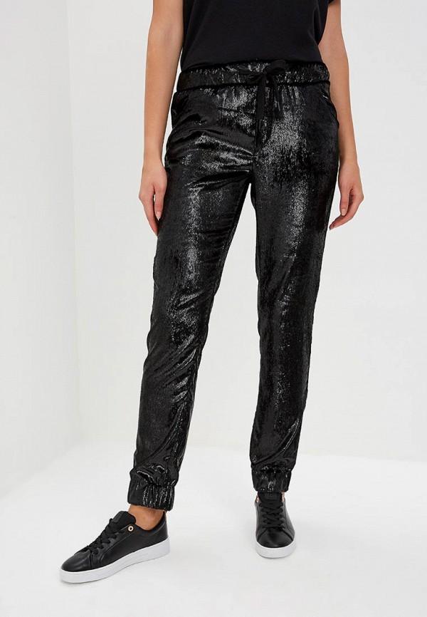 женские спортивные спортивные брюки frankie morello, черные