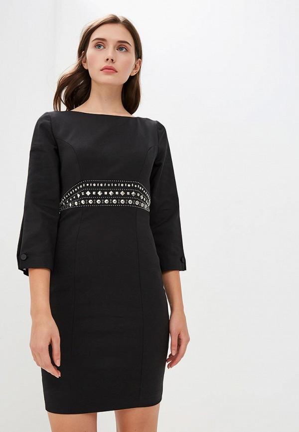 женское вечерние платье frankie morello, черное