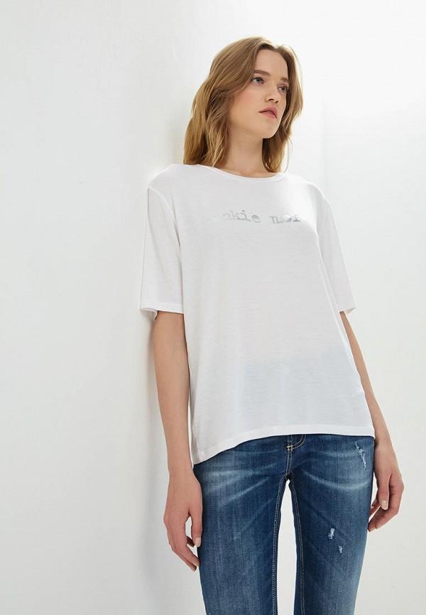 женская футболка frankie morello, белая