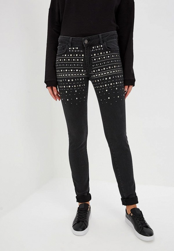 женские джинсы frankie morello, черные
