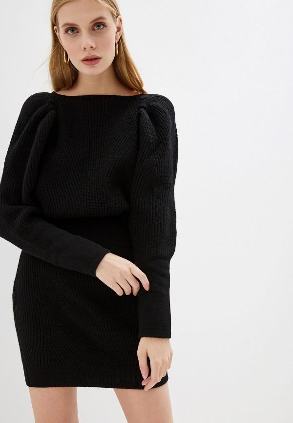 женское платье frankie morello, черное