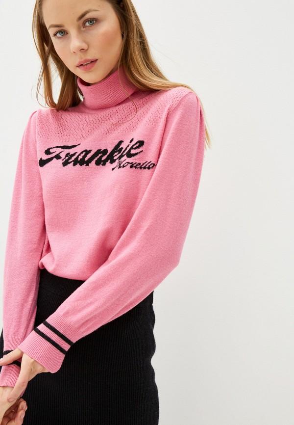 Фото - женскую водолазку Frankie Morello розового цвета