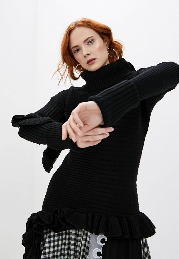 женский свитер frankie morello, черный