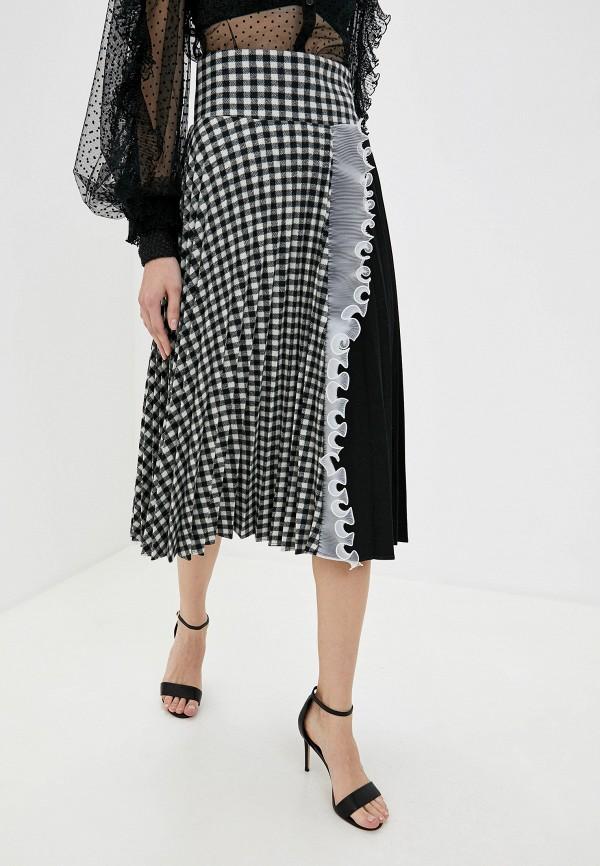 женская юбка frankie morello, разноцветная
