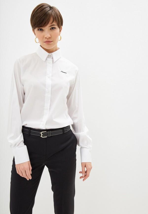 женская рубашка с длинным рукавом frankie morello, белая