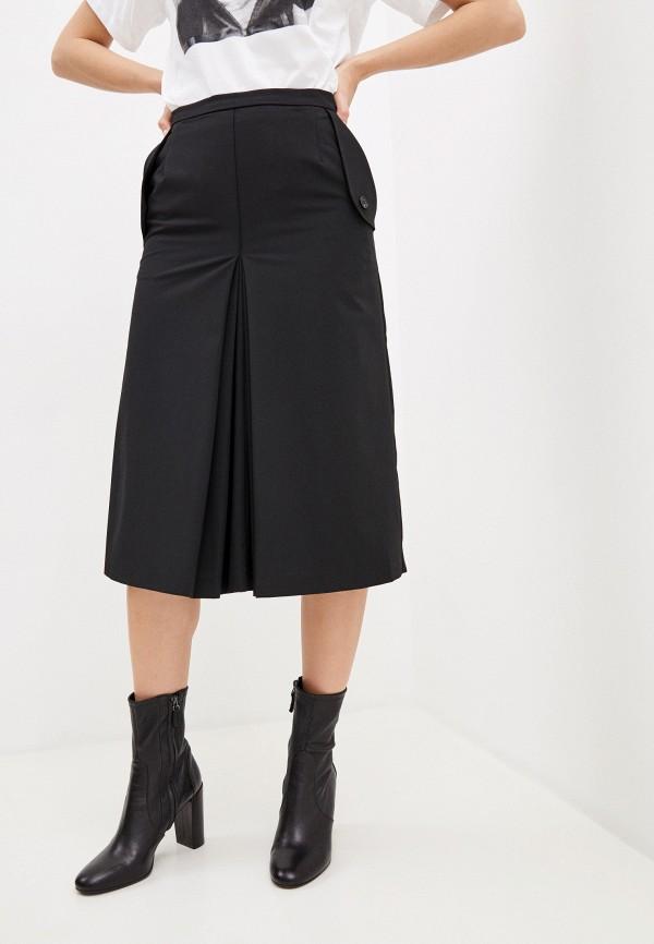 женская юбка frankie morello, черная