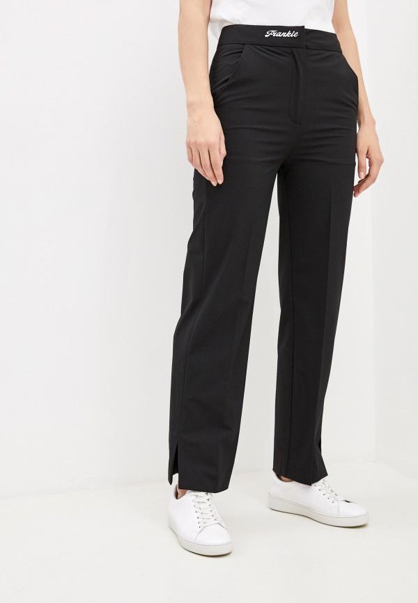 женские классические брюки frankie morello, черные