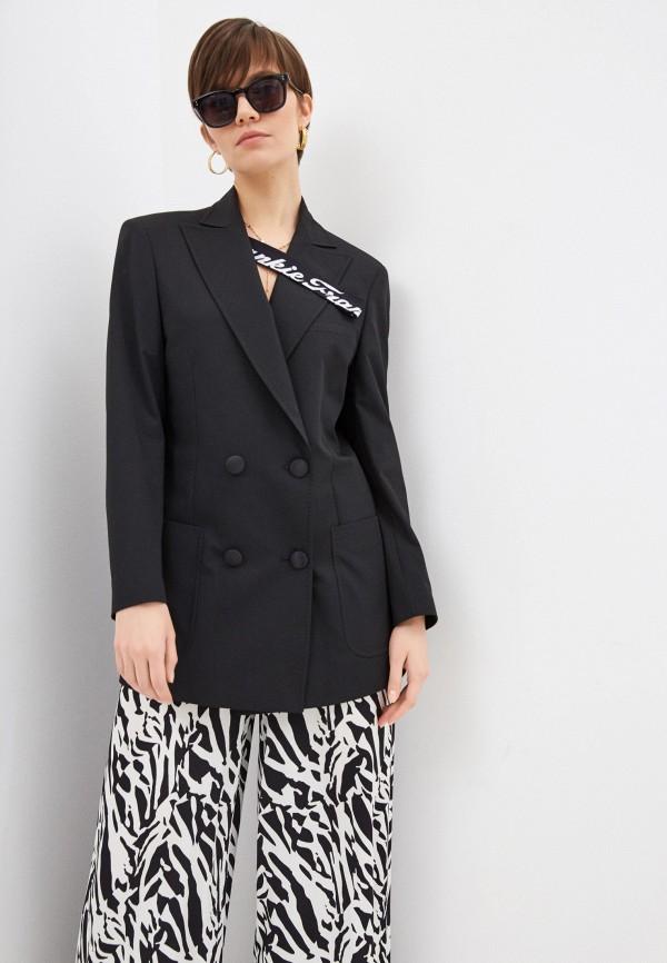 женский пиджак frankie morello, черный