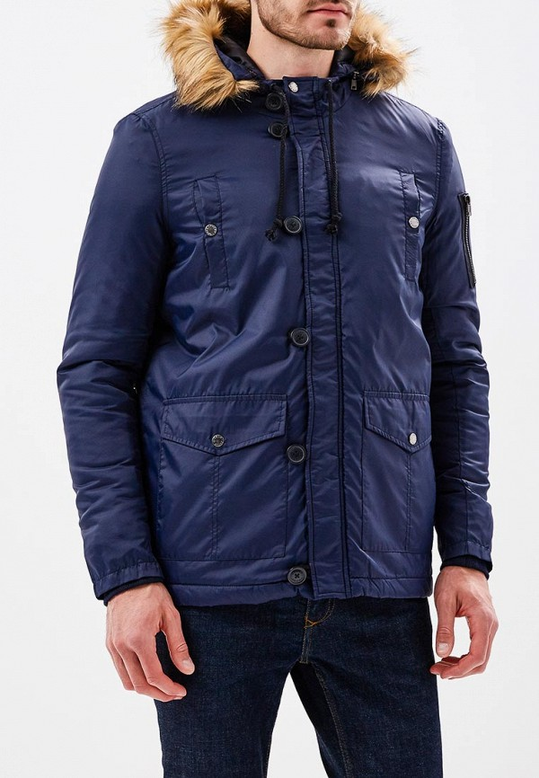 Куртка утепленная Fresh, FR948EMVDV18, синий, Осень-зима 2017/2018  - купить со скидкой