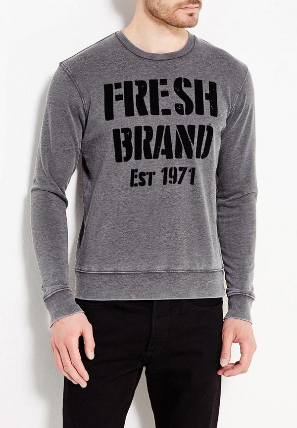 Свитшот Fresh Fresh FR948EMVEM66 sliver plated irregular hem loose jumper